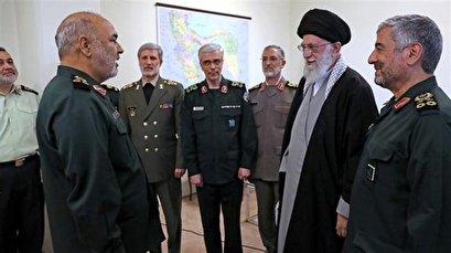 IRGC chief commander thanks Ayatollah Khamenei for message of support