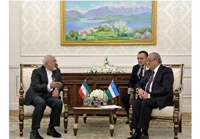 Iranian, Uzbek FMs Discuss Mutual Ties