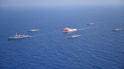 Turkey won't back down against sanctions, threats amid Mediterranean standoff: Erdogan
