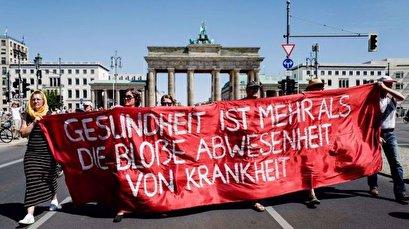 45 police injured in Berlin protests against virus curbs