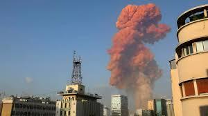 Huge blast rocks Lebanese capital