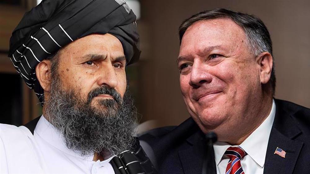 'US's Pompeo, Taliban deputy leader discuss intra-Afghan talks'
