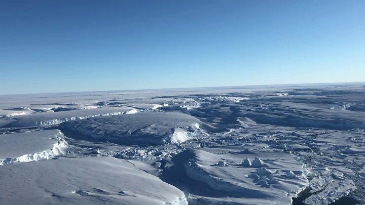 Doomsday Glacier' vulnerability seen in new maps