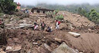 Nepal landslides leave 12 dead and at least 21 missing