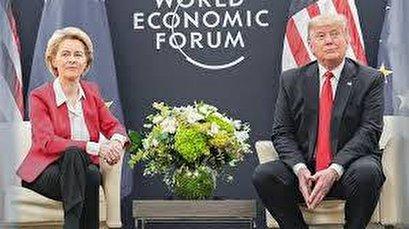 Von der Leyen takes veiled swipe at Trump