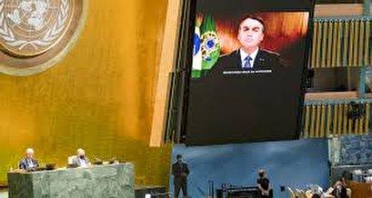 Brazil's Bolsonaro diverts blame for Amazon fires, defends handling of epidemic