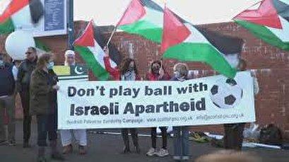 Pro-Palestine Scots condemn