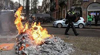 Dutch police arrest 260 nationwide amid violent anti-lockdown demos
