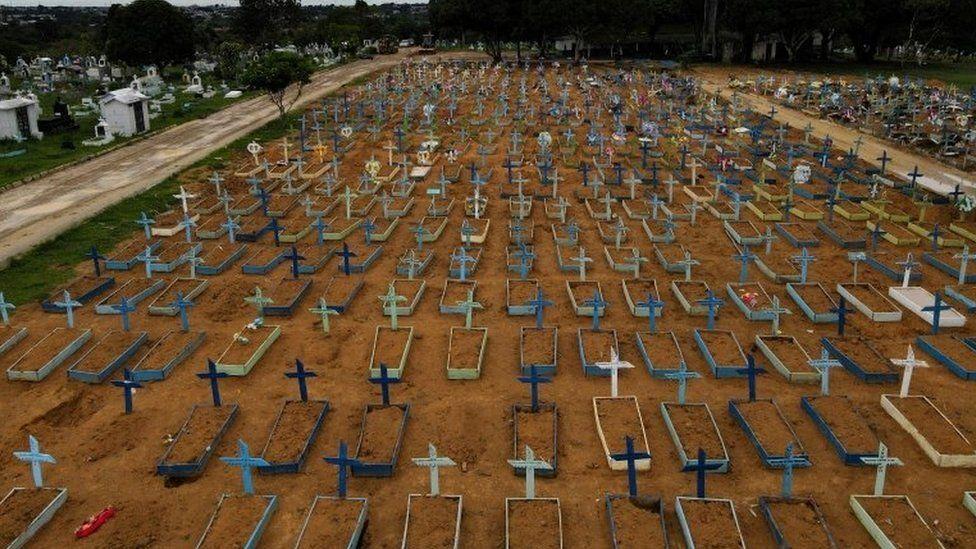 Brazil's daily Covid deaths reach all-time high