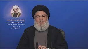 Nasrallah: Zionist-American axis still harboring 'Nile to Euphrates' dream