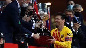 Messi shines as Barcelona thrash Athletic Bilbao to lift Copa del Rey