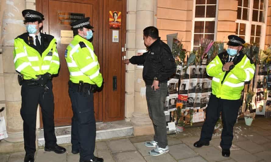 UK prevent Myanmar's ambassador to enter the embassy