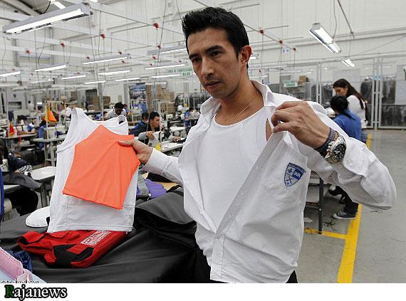 عکس:تولید لباسهای ضدگلوله برایکودکانآمریکایی
