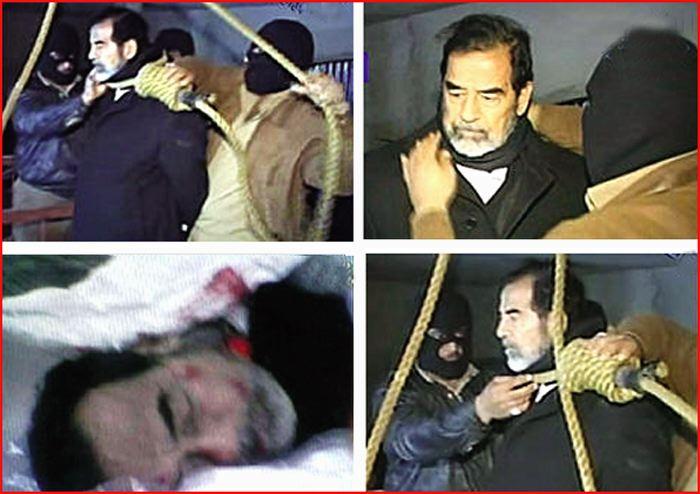 مرگ صدام حسین