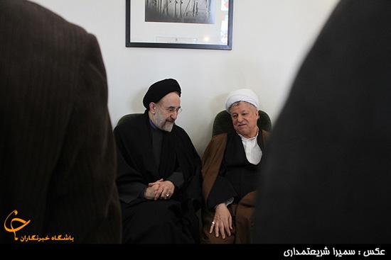 حاضر شدن مهدی هاشمی در انظار عمومی + تصاویر