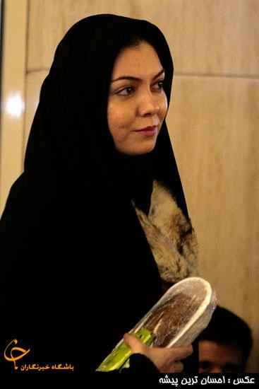 عکس: آزاده نامداری در سی و یکمین جشنواره فیلم فجر