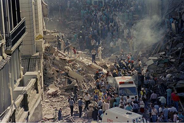 Risultati immagini per انفجار مرکز یهودیان در آرژانتین