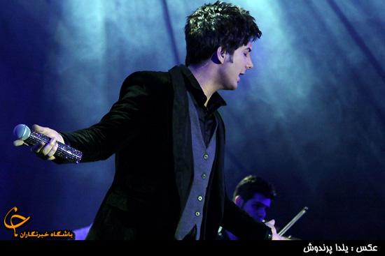 شلیک فرزاد فرزین در جشنواره موسیقی فجر