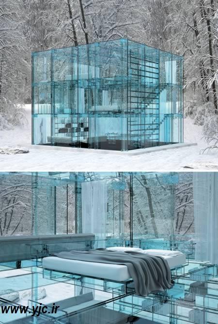 جالب ترین خانه های شیشه ای +عکس