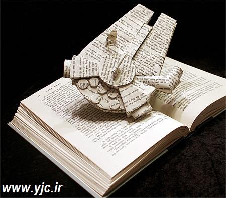 جالبترین راه بازیافت کتاب +تصاویر