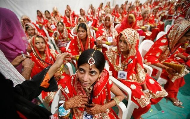 جهیزیه عروس های هندی! /عکس