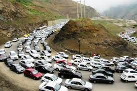 اعلام محدودیت های ترافیکی در جاده کرج – چالوس