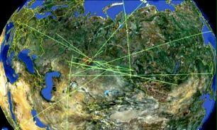 تاثیر امواج برخورد شهاب سنگ روسیه بر سایر مناطق +عکس
