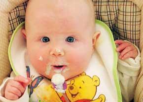 غذای نوزاد دوازده ماهه