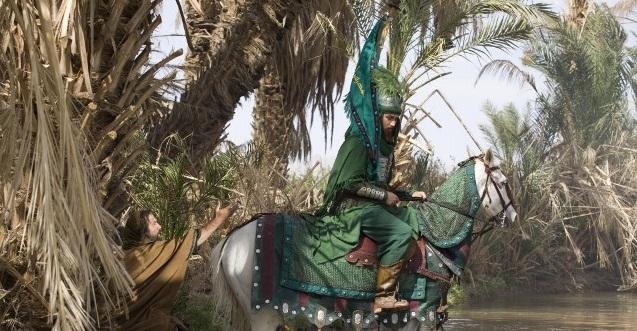 عکس حضرت عباس در رستاخیز