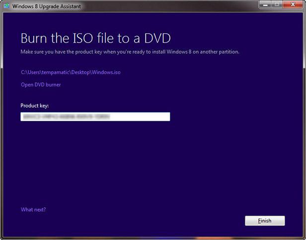 تصویر در DVD رایتر خود را باز کنید.