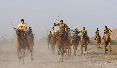 میزبانی خور و بیابانک از رقابتهای شتر سواری کشور-تاریخ:20فروردین92