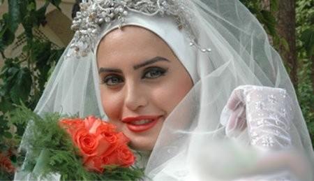 عکس های زیبا از بازیگران با لباس عروس
