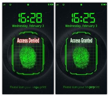 Fingerprint thinkchange