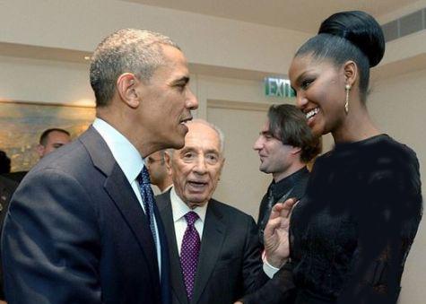 دنیای اقتصاد - دختری که هوش و حواس اوباما را برد + تصاویر