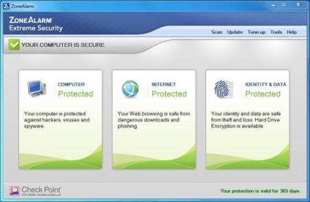 آخرين نسخه ZoneAlarm Extreme Security+دانلود