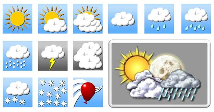 """""""بارش"""" ها در """"تهران"""" از فردا شب آغاز می گردد/ افزایش ۸ درجه ای دما در سواحل شمالی کشور"""