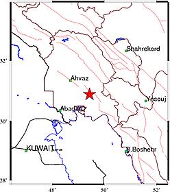 وقوع زمین لرزه در خوزستان+ جزئیات