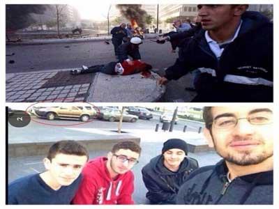 تصاویر قبل و بعد از انفجار در بیروت,اخبار حوادث,تصاویر حوادث,انفجار,در بیروت,حوادث بمب گذاری,تصاویر ی از انفجار بمب,حوادث خونین,حوادث تلخ,انفجارهای بزرگ,berroz.ir