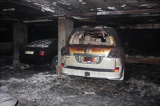 عکسهای آتش سوزی سعادت آباد