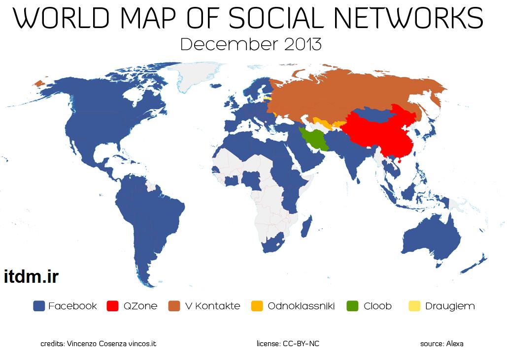 فیسبوک از کدام شبکه های اجتماعی داخلی شکست خورد؟