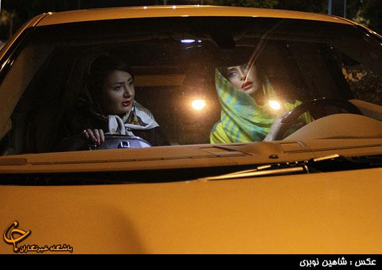 تصاویر:الناز شاکر دوست سوار بر ماشین یک میلیاردی