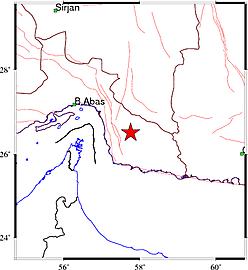 وقوع زمین لرزه ۴٫۶ ریشتری در استان هرمزگان+ جزئیات
