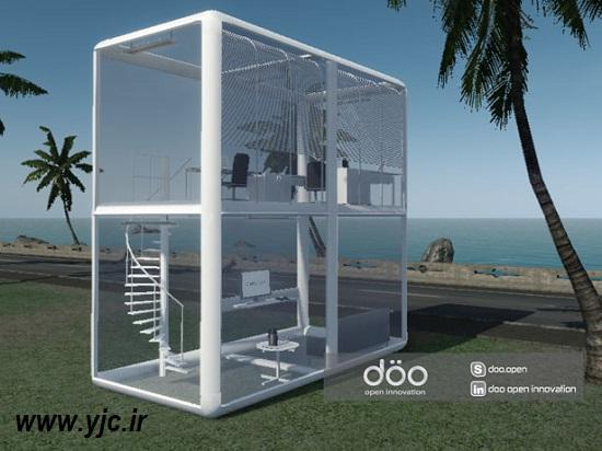 خانه ها در آینده چه شکلی هستند؟ +تصاویر  1122975_246