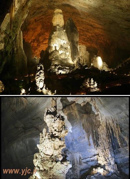 10 غار شگفتانگیز دنیا +عکس