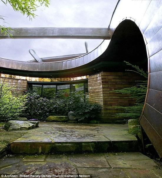 مدرنترین خانه درختی + عکسمنبع:افکار نیوز