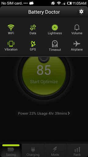 1178159 249 - نرم افزار کاهش مصرف باتری برای گوشی های اندروید