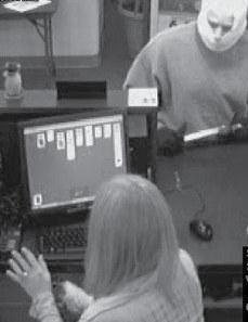 دزدی خنده دار دزد حواس پرت از بانک!