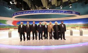 عکس یادگاری کاندیداها