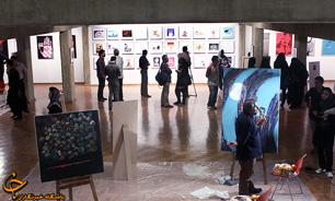 نقاشی های مینو امامی در گالری گلستان