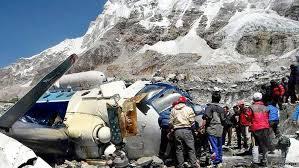سقوط بالگرد امداد یک کشته برجای گذاشت